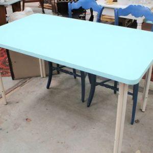 Blauwe Vintage Tafel | Vintage Brabant