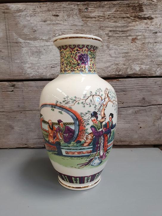 Chinese Vaas   Vintage Brabant