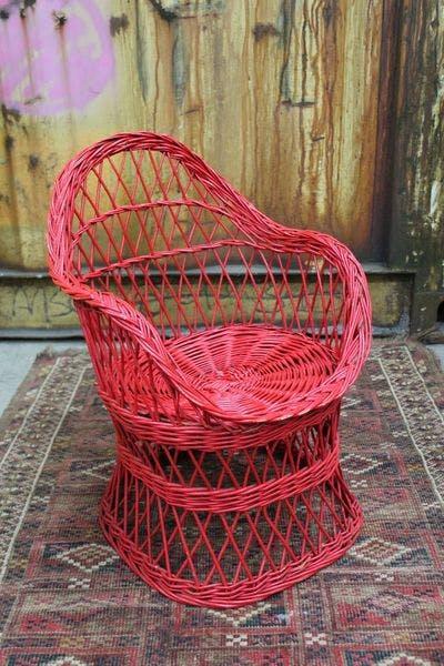 Vintage Rotan Kinderstoel | Vintage Brabant