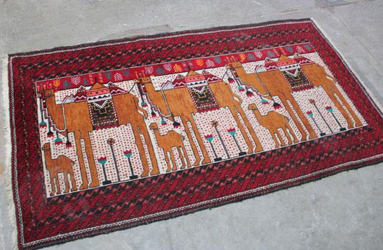Tapijt kamelen | Vintage Brabant