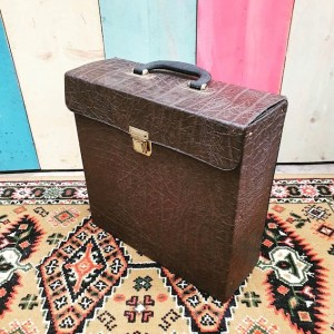 Platenkoffer | Vintage Brabant