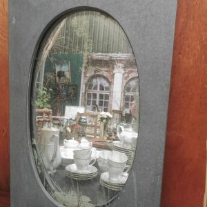 Aluminium spiegel | Vintage brabant