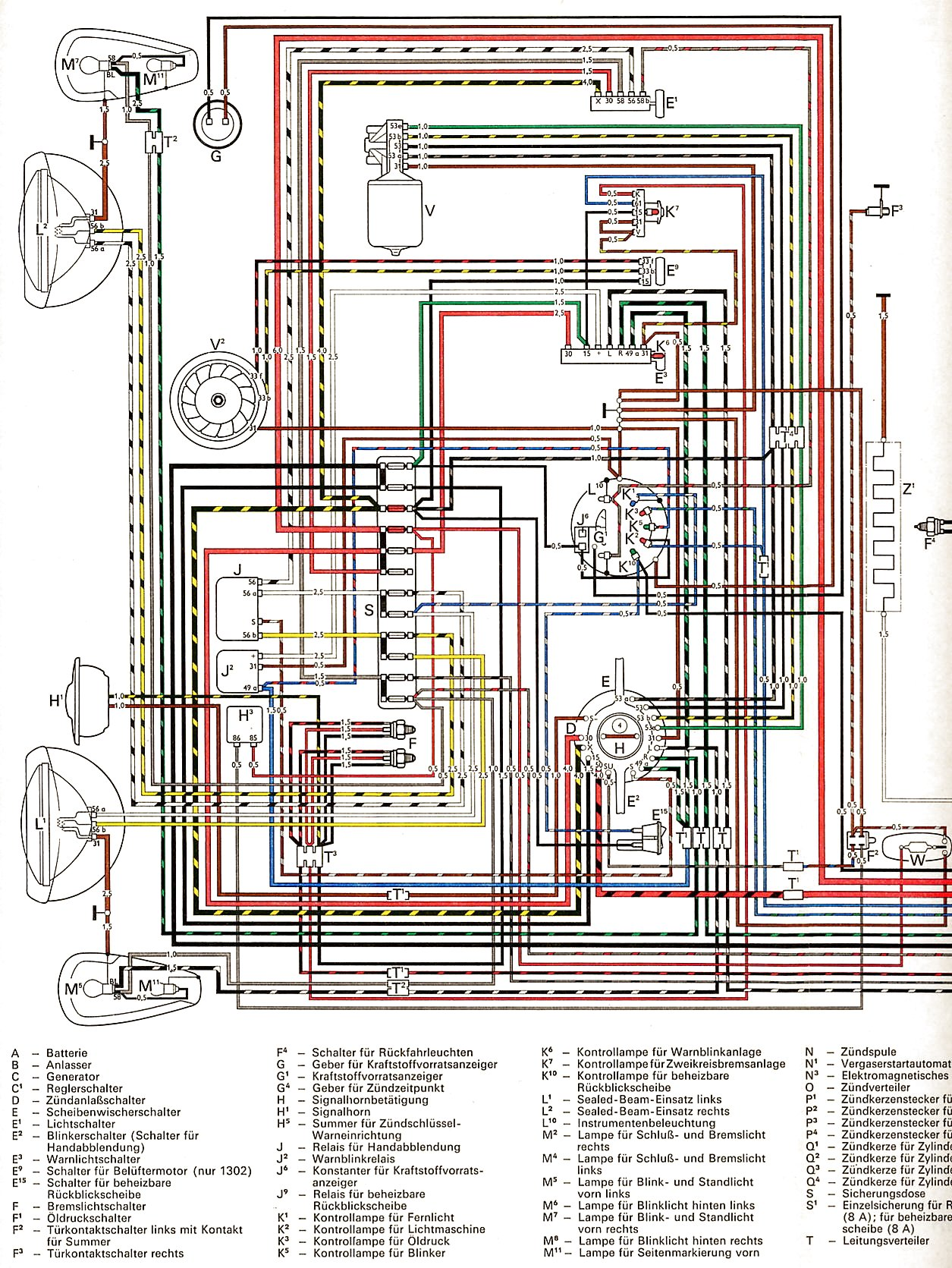 1970 VW Beetle Wiring Diagram besides Viewtopic also Viewtopic together with 72 Vw Beetle Wiring Diagram likewise Front Engine Hot Rod Vw Bug. on thesamba type 1 wiring diagrams