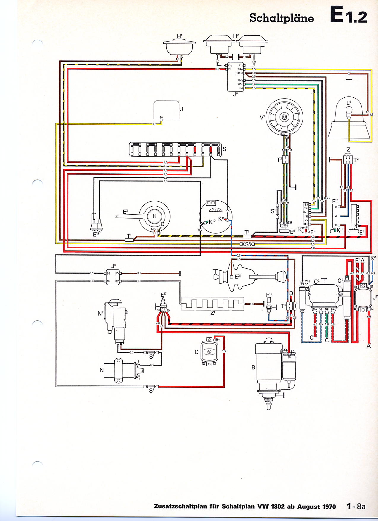 1 Wire Alternator Wiring Diagram 8n Auto Electrical Ford 5 12 Volt Tractor