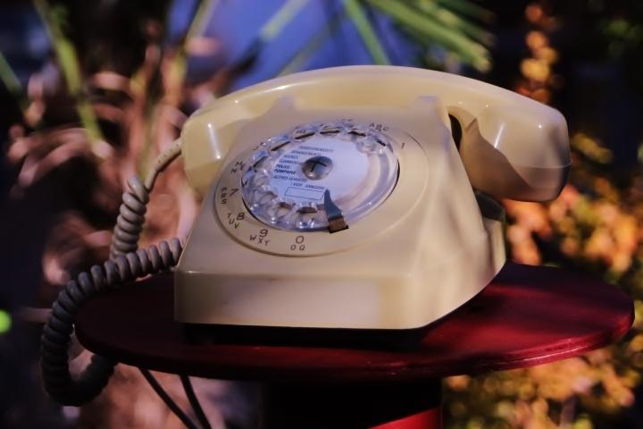 Téléphone à cadran Socotel