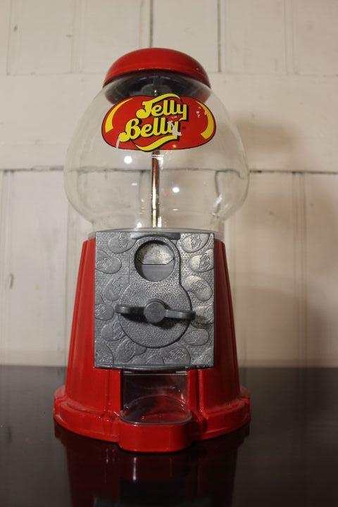 Authentique distributeur de bonbons Jelly Belly pour une déco rétro