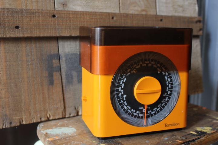 balance de cuisine mécanique terraillon vintage
