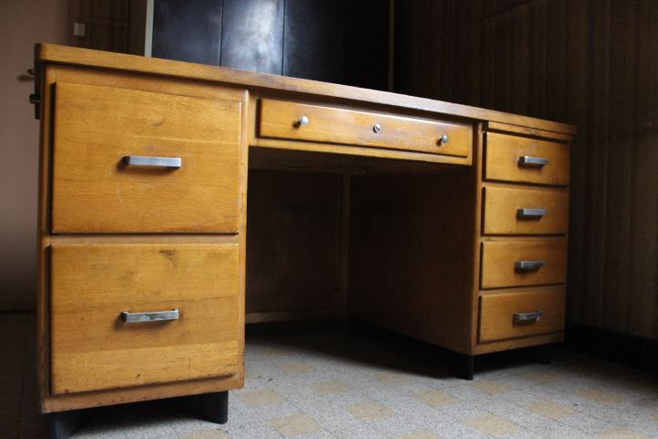 bureau de direction vintage 1950