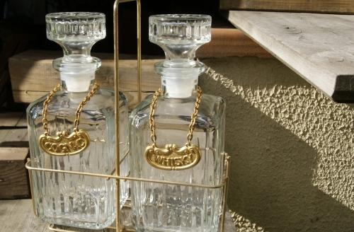 Duo de Carafes pour Whisky & Cognac Vintage
