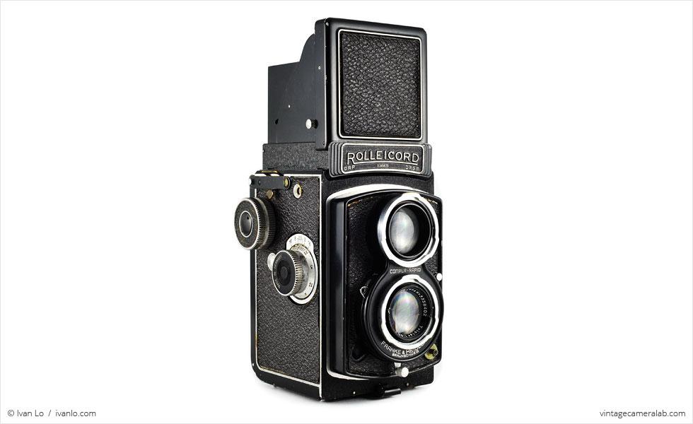 TLR, analoog, camera, analoge camera