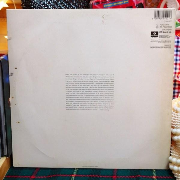 Pet Shop Boys Please 黑膠唱片