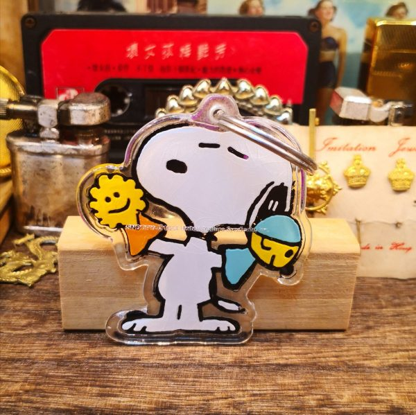 Snoopy Keyring