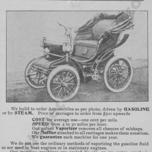 1901 California Advertisement