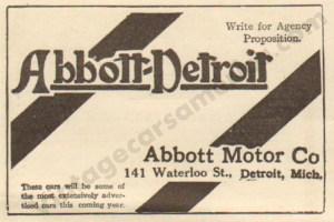 1912 Abbott-Detroit Ad