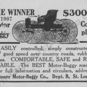1907 Winner Advertisement