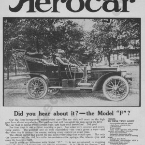 1907 Aerocar Model F