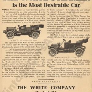 4/8/1909 White Advertisement