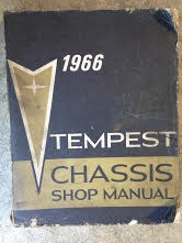 1966 Pontiac Tempest Shop Manual
