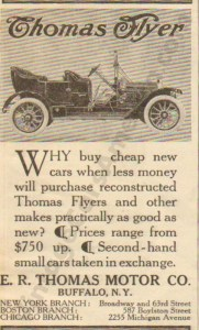 1910 Thomas Advertisement