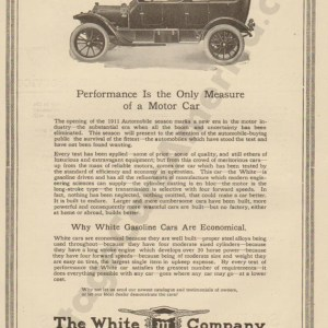 2/1/1911 White Advertisement