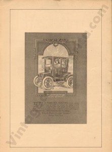 1911 Babcock Advertisement #2