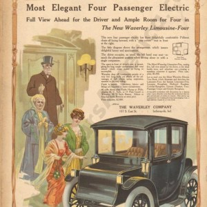1912 Waverly Electric Advertisement