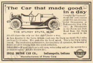 1912 Stutz Advertisement