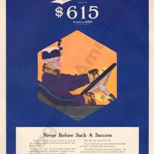 1916 Overland Advertisement #5