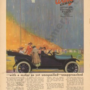 1916 Overland Advertisement #9