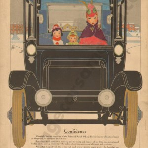 1916 Baker Electric Advertisement