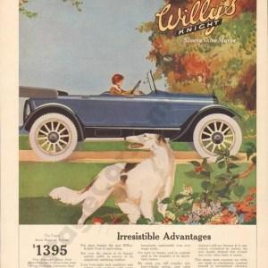 1917 Overland Advertisement #2