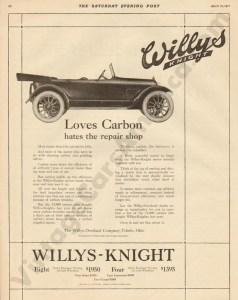1917 Overland Advertisement #4