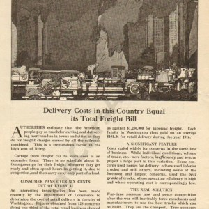1918 White Advertisement