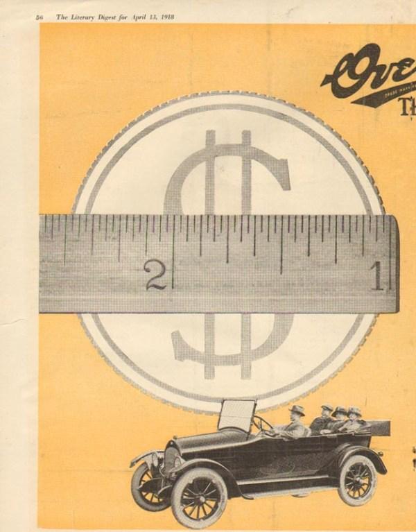1918 Overland Advertisement #3