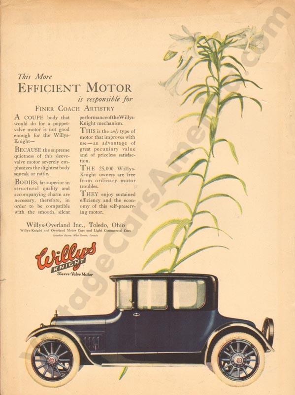 1918 Overland Advertisement #5