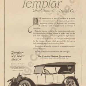 4/19/1919 Templar Advertisement