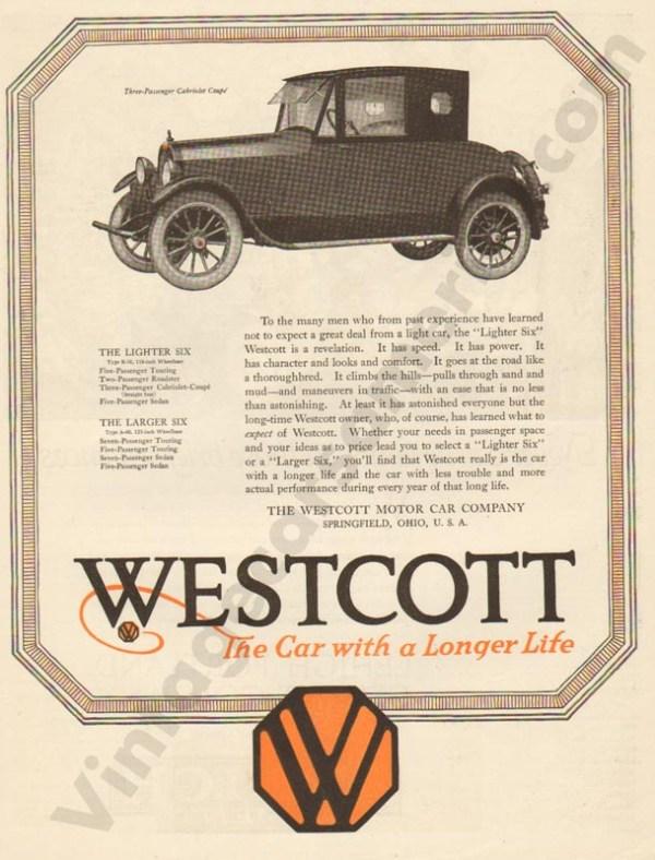 9/13/1919 Westcott Advertisement
