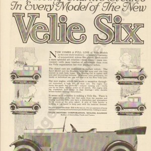 9/20/1919 Velie Advertisement