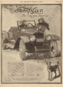 1/3/1920 Templar Advertisement
