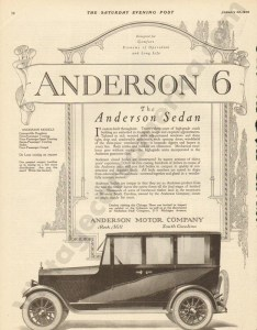 1920 Anderson Advertisement #2