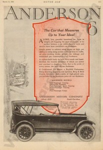 1920 Anderson Advertisement #3