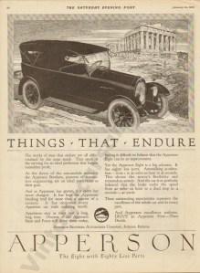 1920 Apperson Advertisement