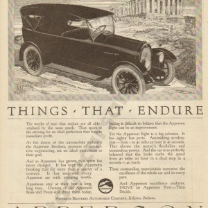 1920 Apperson Advertisement