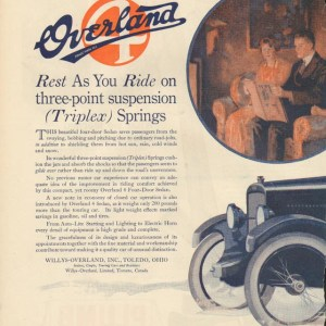 1920 Overland Advertisement #4