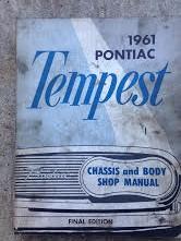 1961 Pontiac Tempest Shop Manual