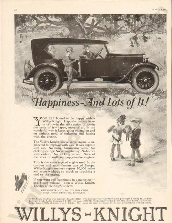 1924 Overland Advertisement #1