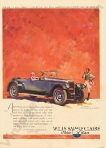 1925 Wills Saint Claire Advertisement #3