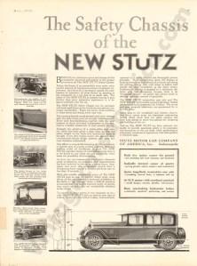 1926 Stutz Advertisement #2