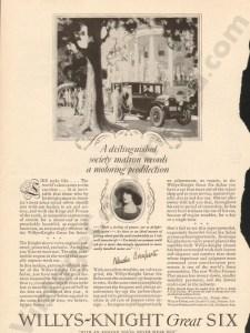 1926 Overland Advertisement #10