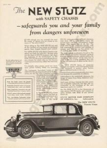 1926 Stutz Advertisement #8